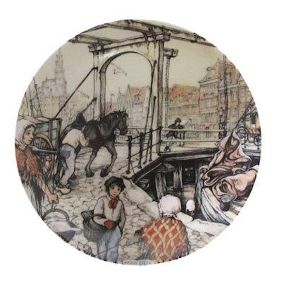 Anton Pieck Wall Plate Hoorn