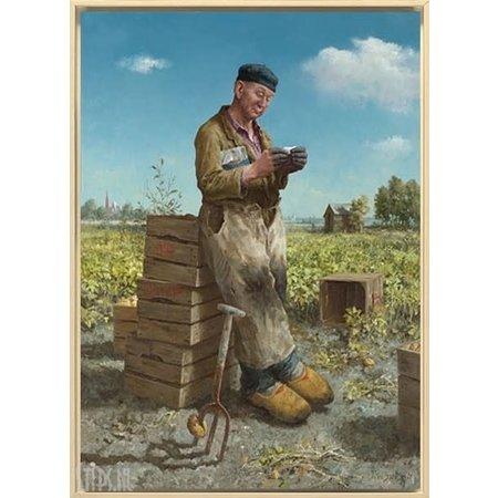 Marius van Dokkum Aardappelsteker Puzzle 500pc
