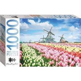 Tulip Fields Puzzle 1000pc