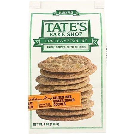 Tate's Ginger Zinger Cookies Gluten Free
