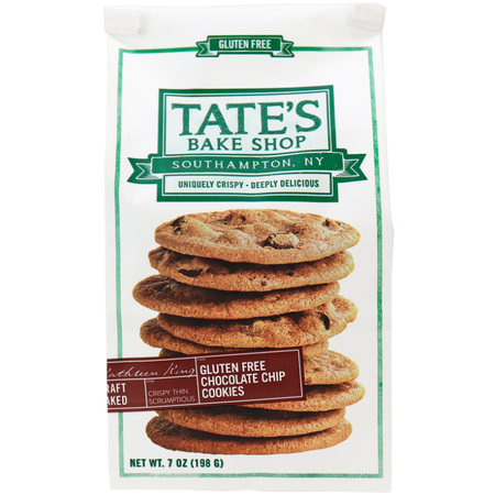 Tate's Chocolate Chip  Cookies Gluten Free