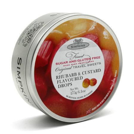 Simpkins Rhubarb & Custard Drops Sugar Free