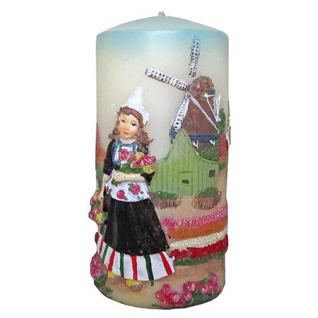 Tulip Girl Candle