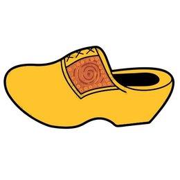 Wooden Shoe Car Sticker