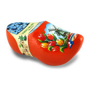 Wooden Shoe Flower Forget Me Not 10cm