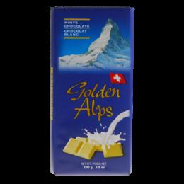 Golden Alps Swiss White Chocolate 100g