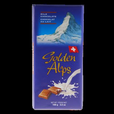Golden Alps Swiss Milk Chocolate 100g