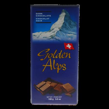 Golden Alps Swiss Dark Chocolate 100g