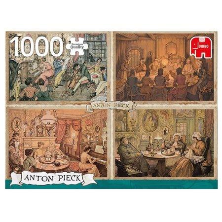 Anton Pieck Living Room Puzzle 1000pc
