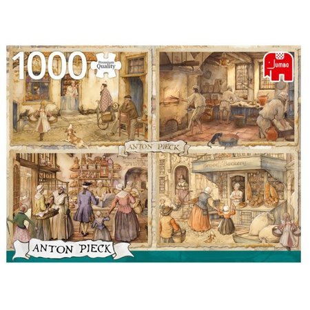 Anton Pieck Bakers Puzzle 1000pc