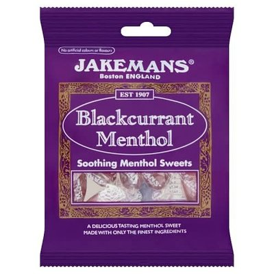 Jakemans Black Currant Menthol Drops