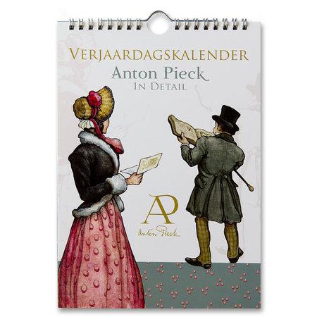 Anton Pieck Perpetual Birthday Calendar In Detail