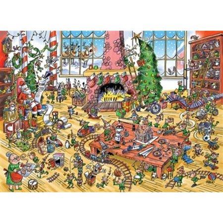 DoodleTown: Elves at Work Puzzle 1000pc