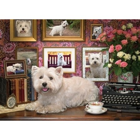 Westies Are My Type Puzzle 1000pc