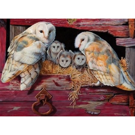 Barn Owls Puzzle 1000pc