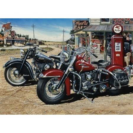 Two for the Road Puzzle 1000pc