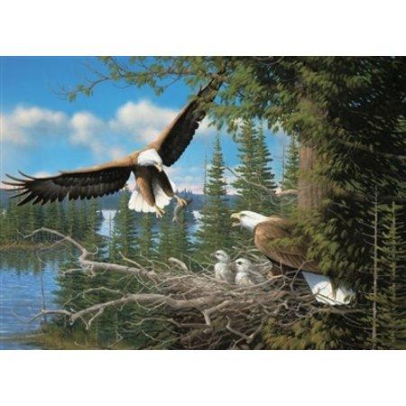Nesting Eagles Puzzle 1000pc