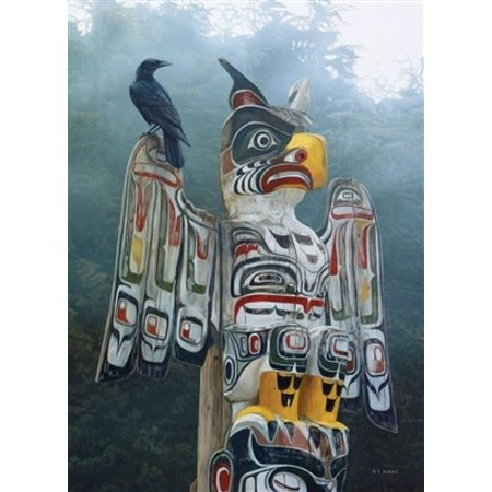 Totem Pole in the Mist Puzzle 1000pc