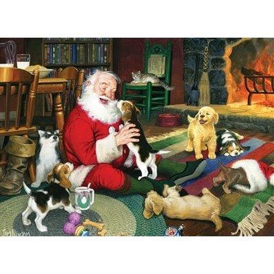 Santa's Playtime Puzzle 1000pc