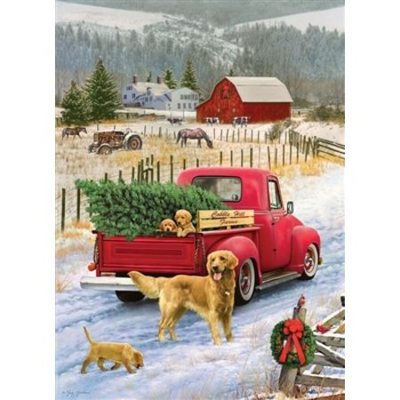 Christmas on the Farm Puzzle 1000pc