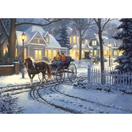 Horse - Drawn Buggy Puzzle 1000pc