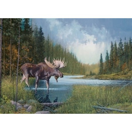 Moose Lake Puzzle 1000pc