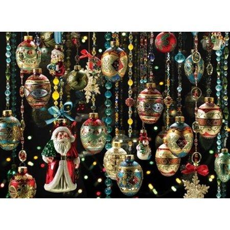 Christmas Ornaments Puzzle 1000pc
