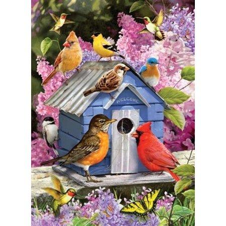 Spring Birdhouse Puzzle 1000pc