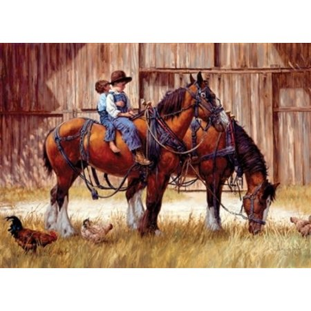 Back to the Barn Puzzle 1000pc