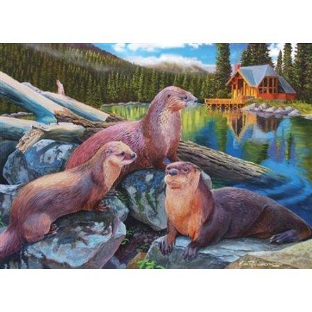 River Otters Puzzle 1000pc