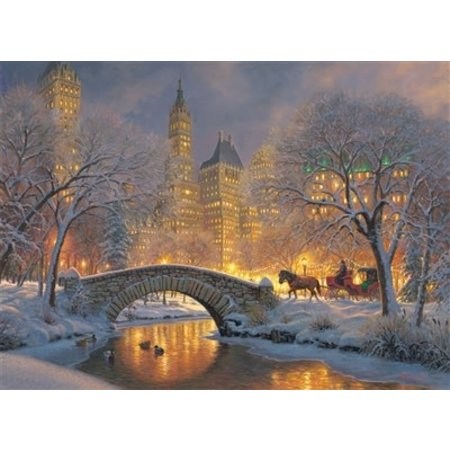 Winter in the Park Puzzle 1000pc