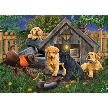 In the Doghouse Puzzle 1000pc