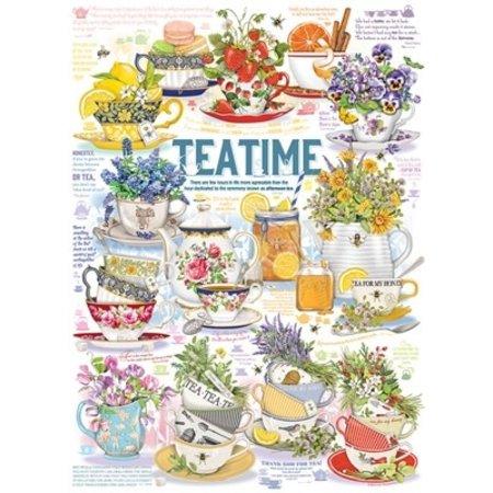 Tea Time Puzzle 1000pc