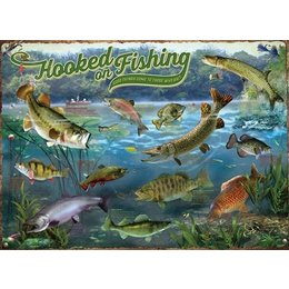 Hooked on Fishing Puzzle 1000pc