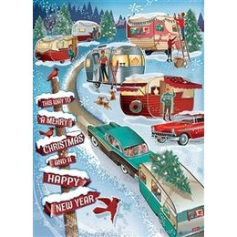 Christmas Campers Puzzle 1000pc