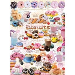 Donut Time Puzzle 1000pc