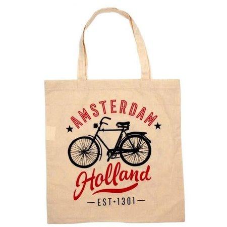 Amsterdam Holland Shopping Bag (Cotton)