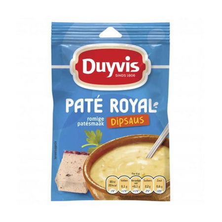 Duyvis Duyvis Pate Royal Dip Sauce 6g