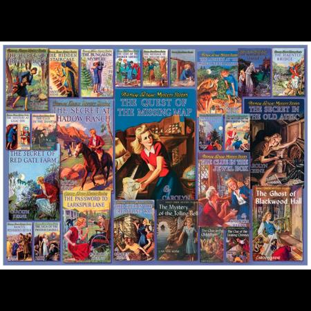 Vintage Nancy Drew Puzzle 1000pc