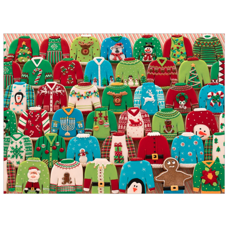 Ugly Xmas Sweaters Puzzle 1000pc