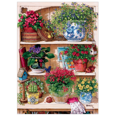 Flower Cupboard Puzzle 500pc