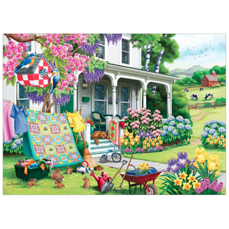 Spring Cleaning Puzzle 500pc