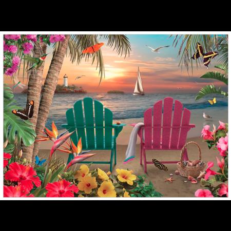 Island Paradise Puzzle 500pc