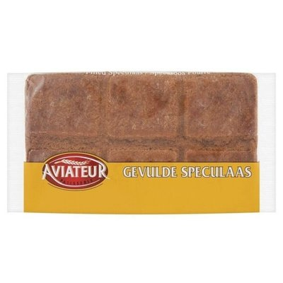 Aviateur Gevulde Speculaas  with no Almonds 240g