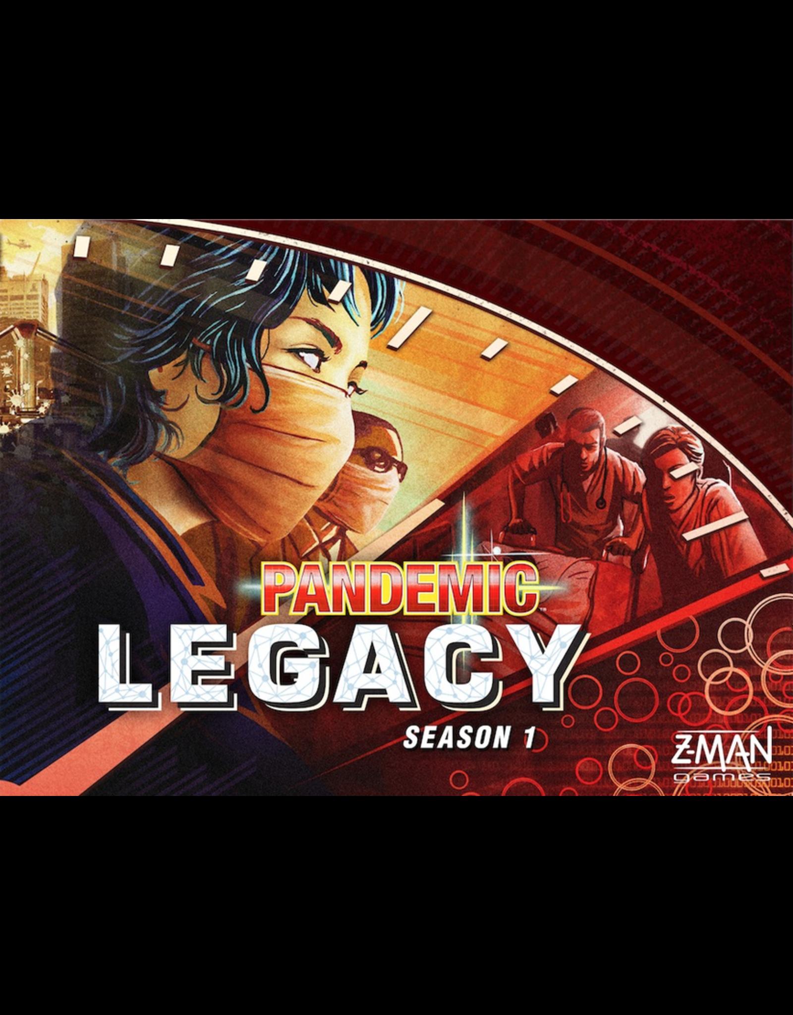 Pandemic Legacy (Red Season 1)