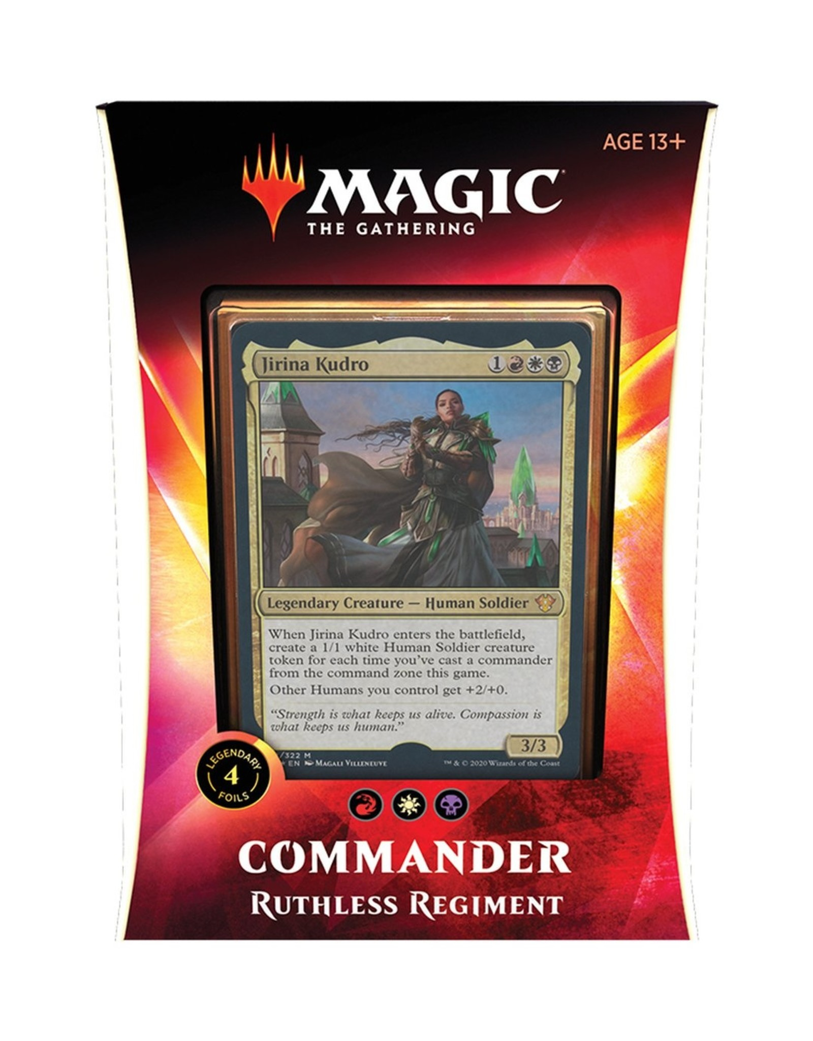 Magic: The Gathering Commander 2020 - Ruthless Regiment (RWB)
