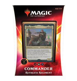 Magic: The Gathering Commander 2020 - Ruthless Regiment (RWB)