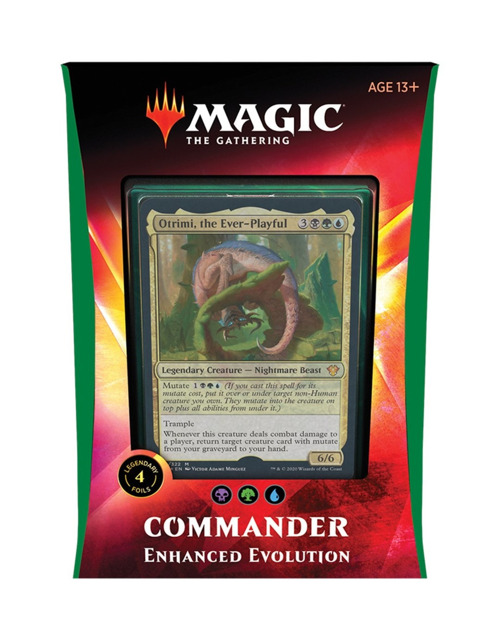 Magic: The Gathering Commander 2020 - Enhanced Evolution (BGU)