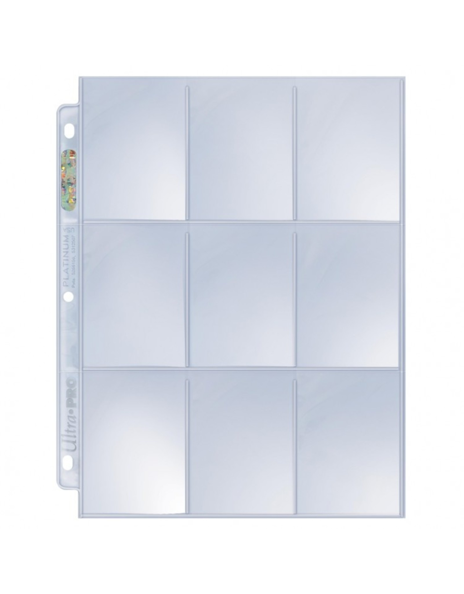 9-Pocket Pages Box of 100 (Top Load)