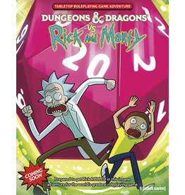 Dungeons & Dragons D&D vs. Rick and Morty RPG